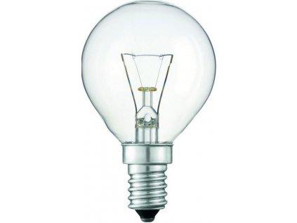 Žárovka iluminační P45 25W/E14/180Lm čirá