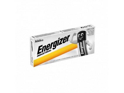 Baterie AAA/LR03 ENERGIZER Industrial 10ks (shrink)
