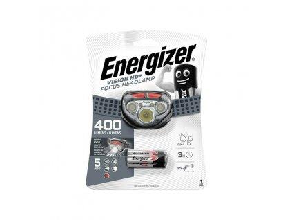 LED čelová svítilna Energizer VISION HD+ FOCUS 315Lm 3 x baterie AAA