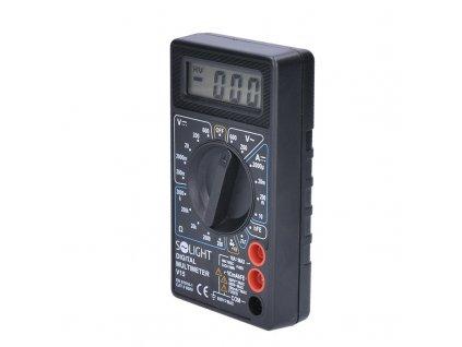 Digitální multimetr, max. AC 500V, max. DC 500V / 10A, test diody, bzučák