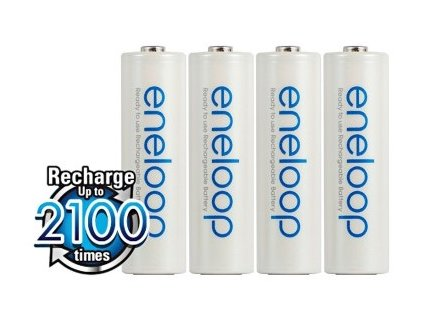 Baterie AA/HR6 1900mAh PANASONIC ENELOOP 4ks (bulk)
