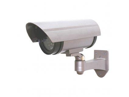 Maketa bezpečnostní kamery na zeď, LED dioda, 2 x AA