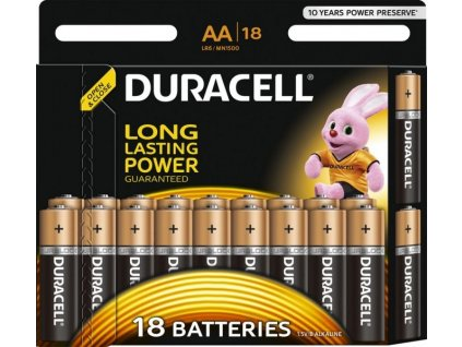 Baterie AA/LR6 DURACELL Basic 18ks (blistr)