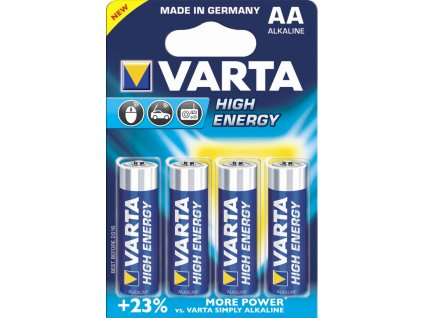 Baterie AA/LR6 VARTA High Energy 4ks (blistr)