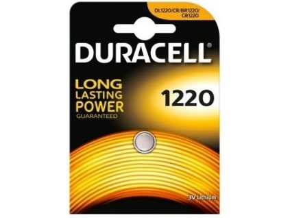 Baterie 3V CR1220 DURACELL 1ks (blistr)