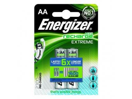 Baterie AA/HR6 2300mAh ENERGIZER EXTREME 2ks (blistr)