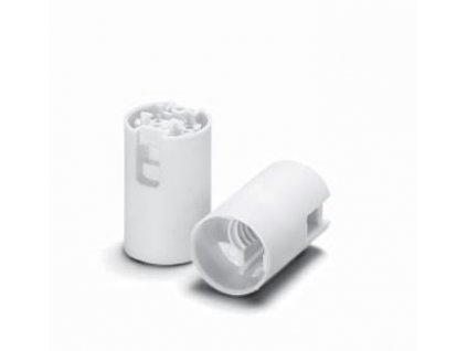 Objímka patice plastová E14