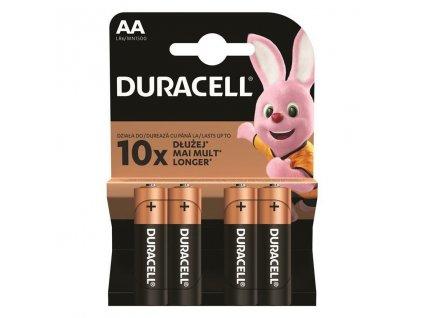 Baterie AA/LR6 DURACELL Basic 4ks (blistr)