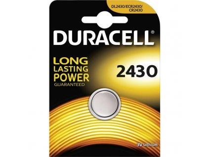 Baterie 3V CR2430 DURACELL 1ks (blistr)