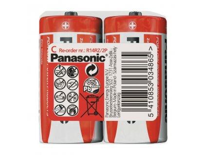 Baterie R14/C Panasonic Special 2ks (shrink)