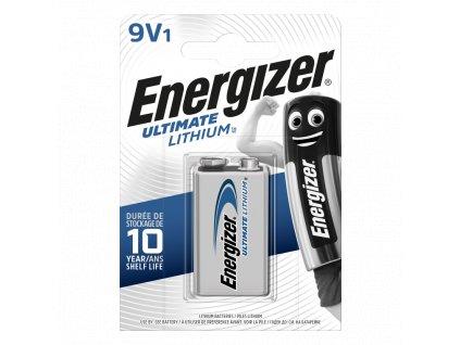 Baterie 9V Energizer LITHIUM 1ks (blistr)