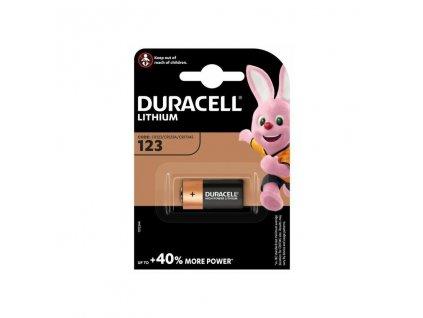 Baterie 3V CR123 DURACELL HIGH POWER LITHIUM 1ks (blistr)