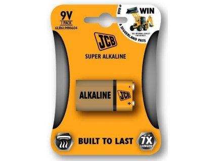 Baterie 9V JCB SUPER 1ks (blistr)