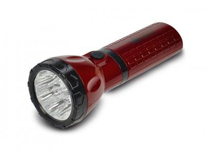Nabíjecí LED svítilna,plug-in, 9x LED, 1x baterie Pb 4V/800mAh