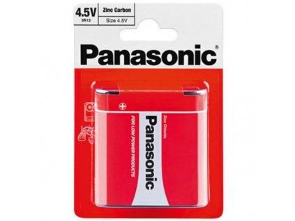 Baterie 3R12 Panasonic 4,5V 1ks (blistr)