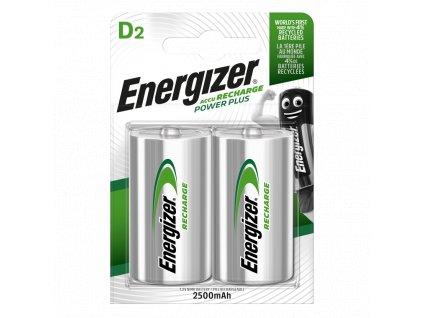 Baterie HR20/D 2500mAh ENERGIZER NiMH 2ks (blistr)