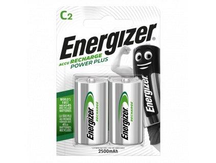 Baterie HR14/C 2500mAh ENERGIZER NiMH 2ks (blistr)