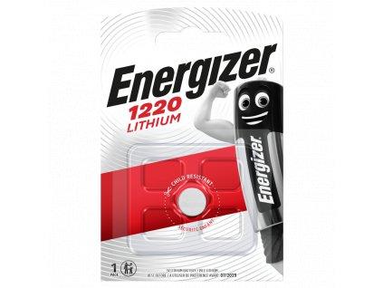 Baterie 3V CR1220 ENERGIZER 1ks (blistr)