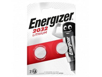 Baterie 3V CR2032 ENERGIZER 2ks (blistr)