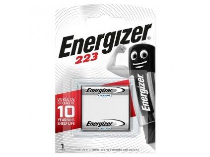 Baterie 6V CR223 ENERGIZER 1ks (blistr)
