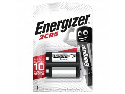 Baterie 6V 2CR5 ENERGIZER 1ks (blistr)