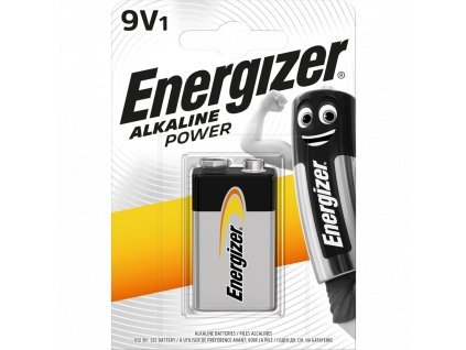 Baterie 9V Energizer Power 1ks (blistr)