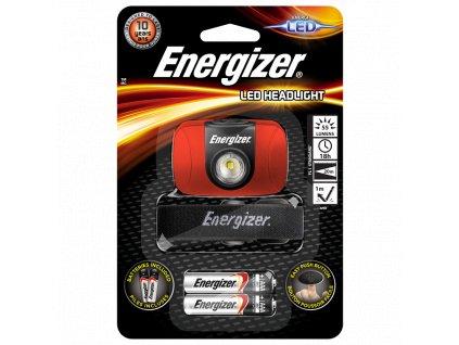 LED čelová svítilna Energizer HEADLIGHT 55Lm 2 x baterie AAA