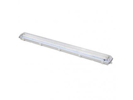 Lineární svítidlo prachotěsné pro 2x120cm LED trubice G13/230V/IP65/127cm, šedé