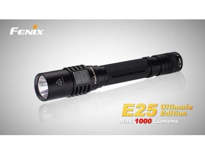 LED svítilna Fenix E25 Ultimate Edition 1000Lm 2 x baterie AA