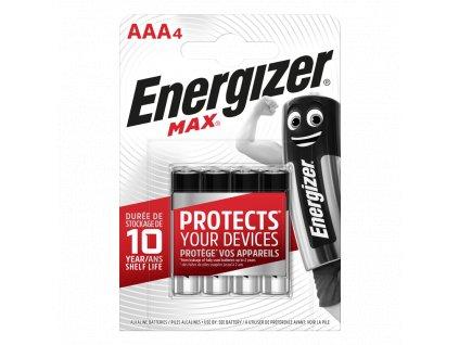 Baterie AAA/LR03 ENERGIZER MAX+ PowerSeal 4ks (blistr)