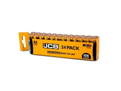 Baterie AA/LR6 JCB OXI DIGITAL 24ks (shrink)