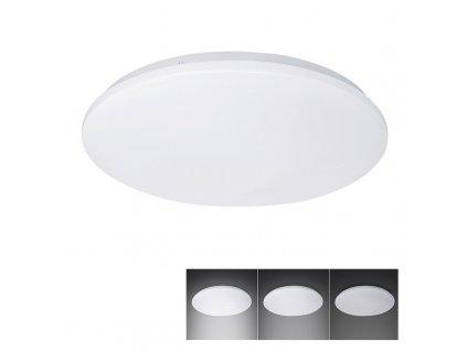 LED přisazené stmívatelné svítidlo 18W/230V/1260Lm/4000K/IP20 kruhové bílé