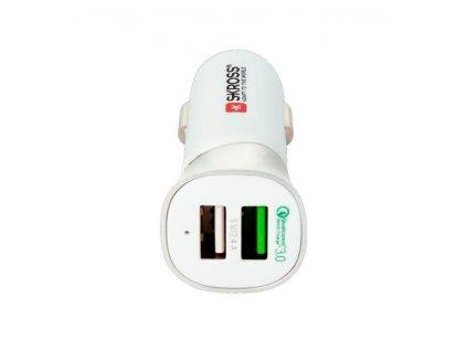 Dual USB nabíjecí adaptér do auta DC28, 2x USB A 5V/5400mA