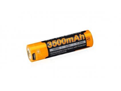 Dobíjecí USB baterie  Fenix 18650 Li-Ion 3,6V/3500mAh 1ks (shrink)