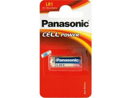 Baterie 1,5V E90/LR1 PANASONIC CELL Power 1ks (blistr)