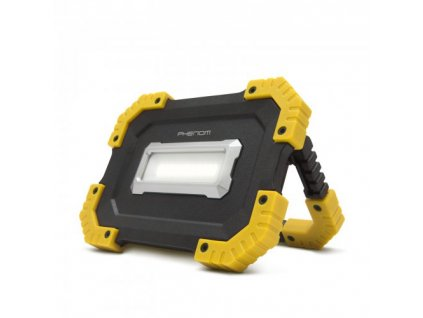 LED přenosný nabíjecí reflektor 16W/1000Lm s funkcí powerbanky