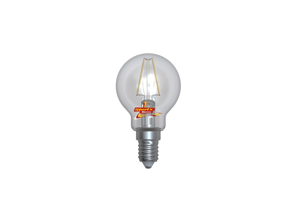 LED ball MGFL-1404D 4W E14 4200K retro LED žárovka