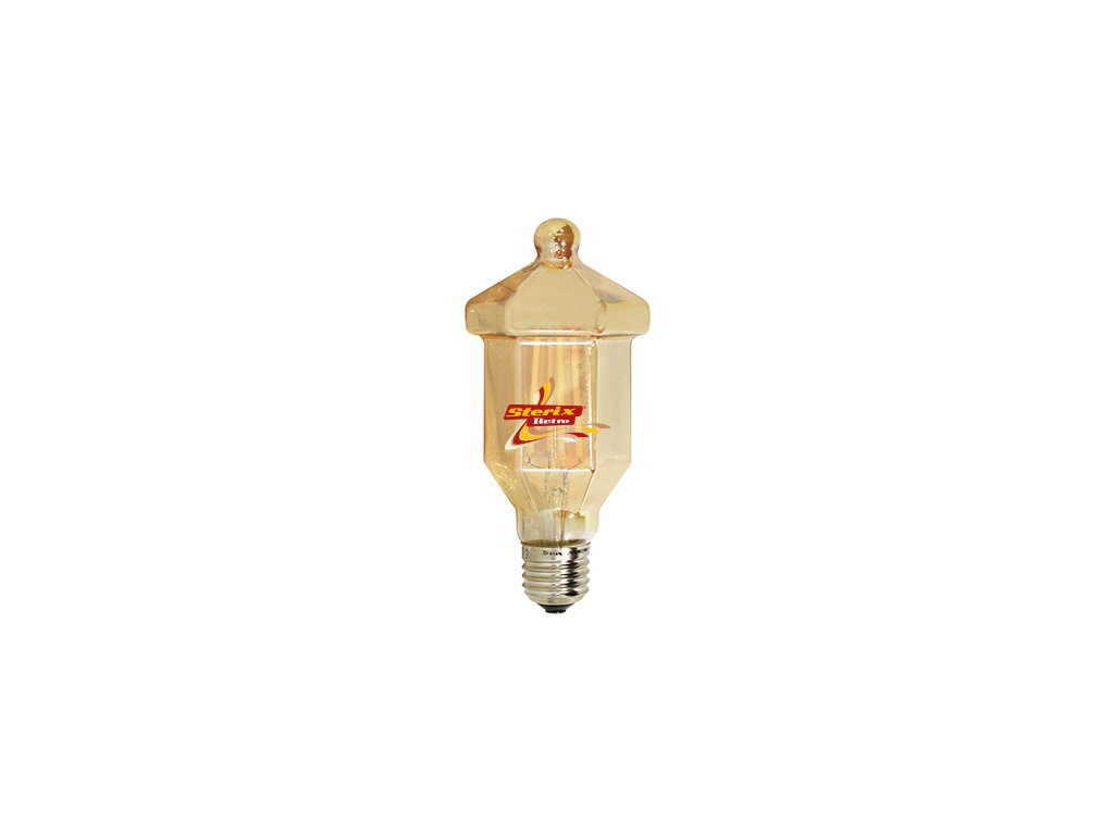 Retro LED žárovka Lantern Gold