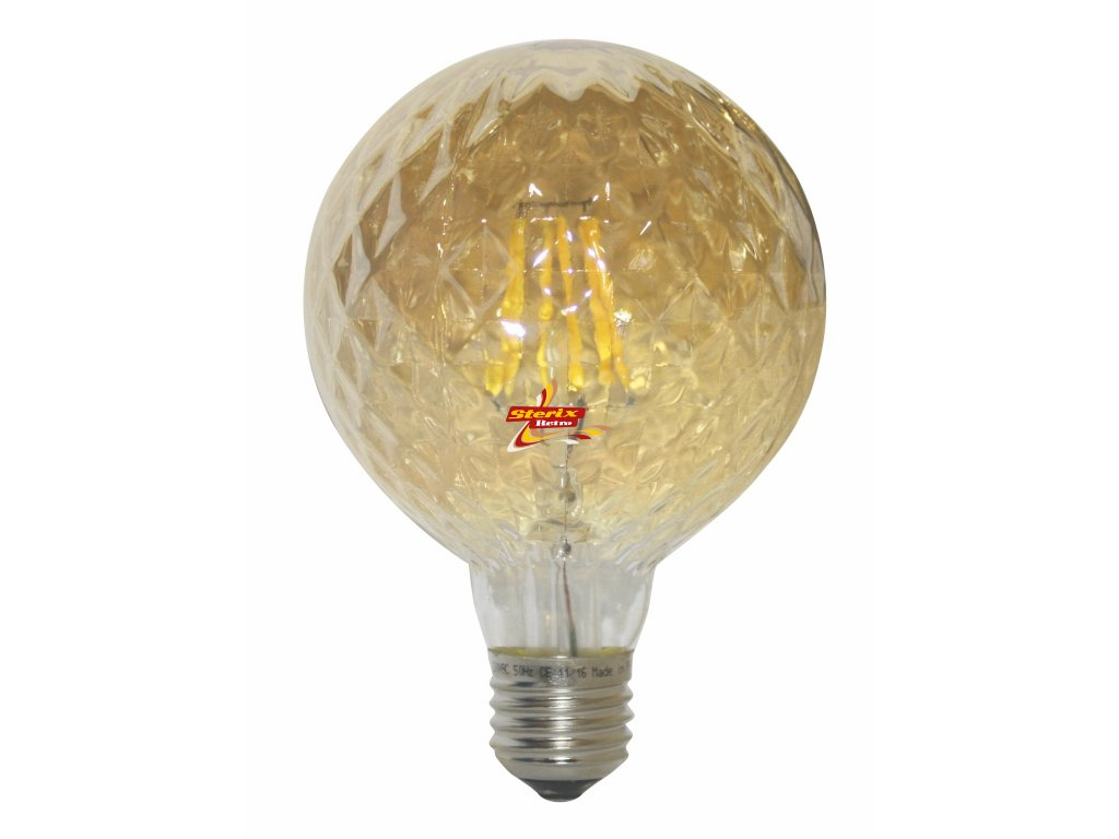 Retro LED žárovka Poc G95 Gold