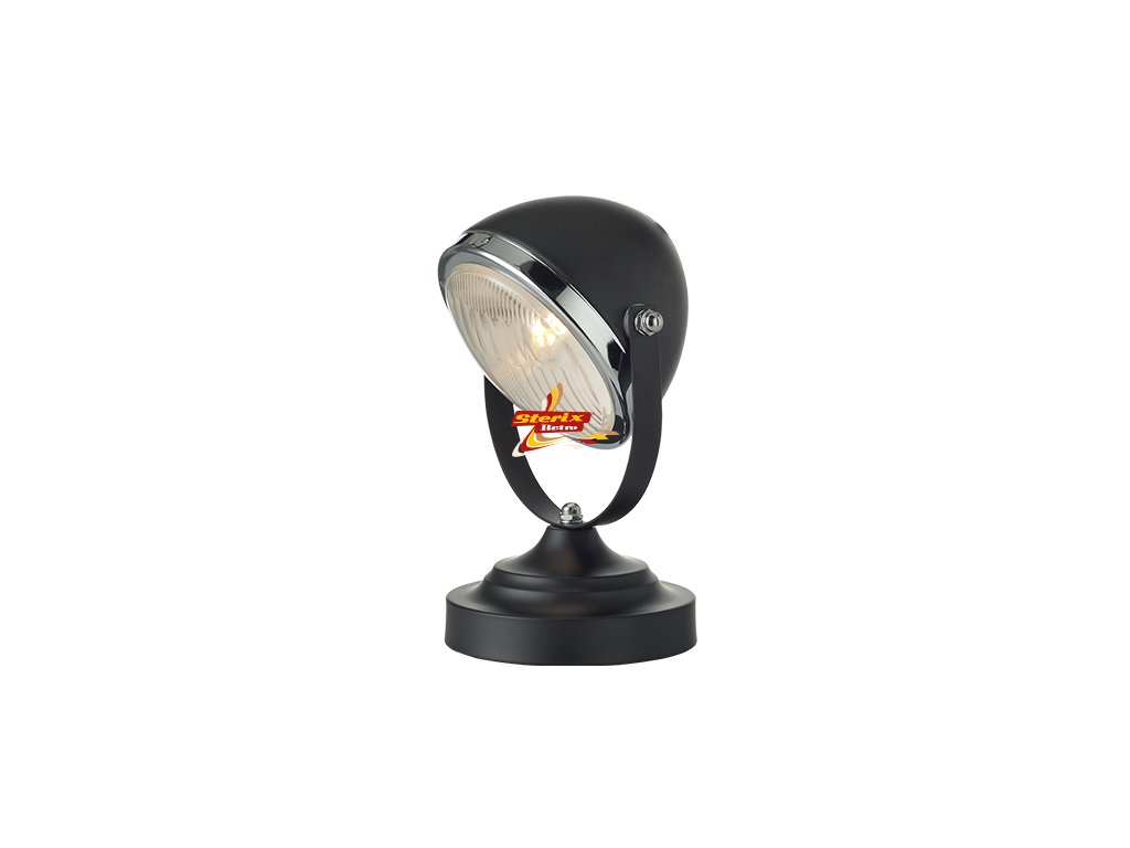 Headlight Black Small
