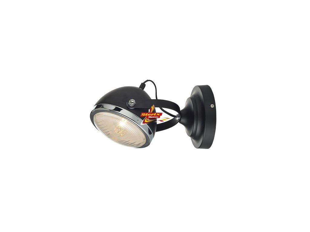 Headlight Black Wall