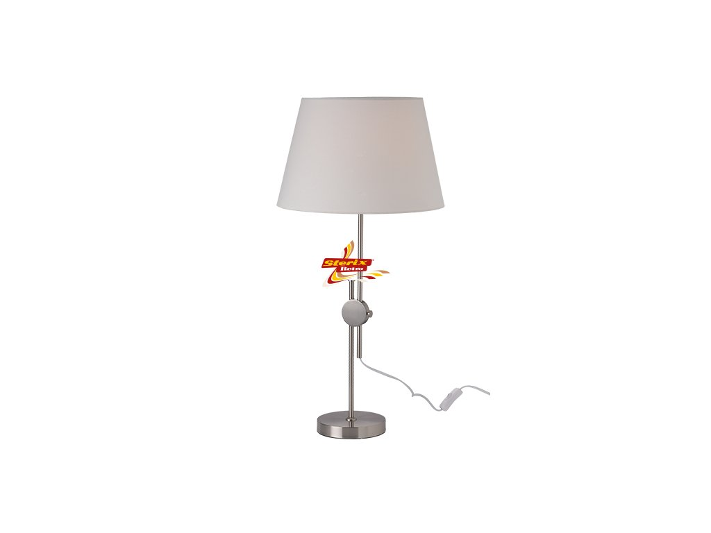 Stolní lampa Up and Down Nickel