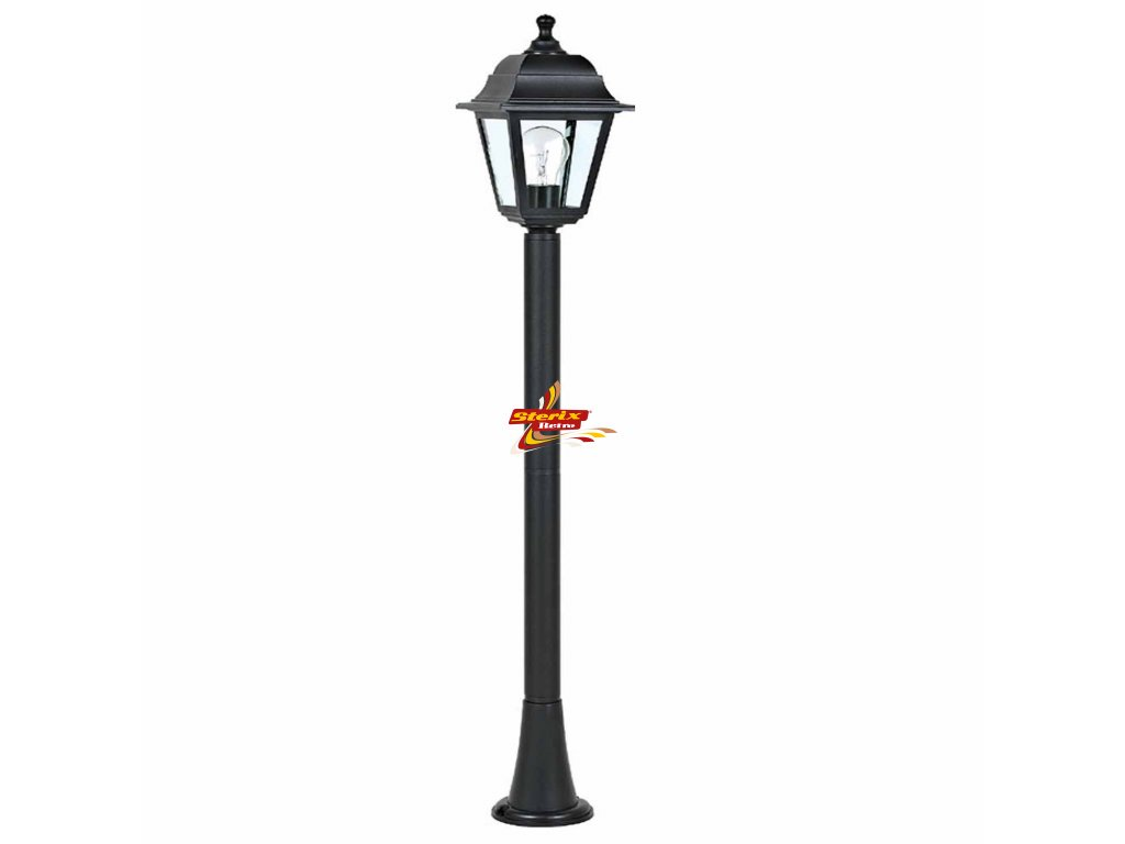 Big Lantern Black IP44