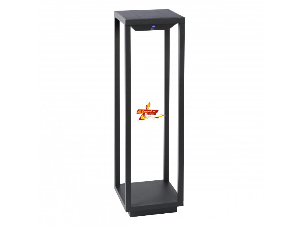 TENSO SOLAR BOLLARD LED - IP54 Black