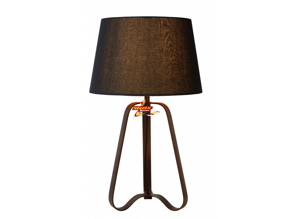 Stolní lampa CAPUCINO - Rust Brown