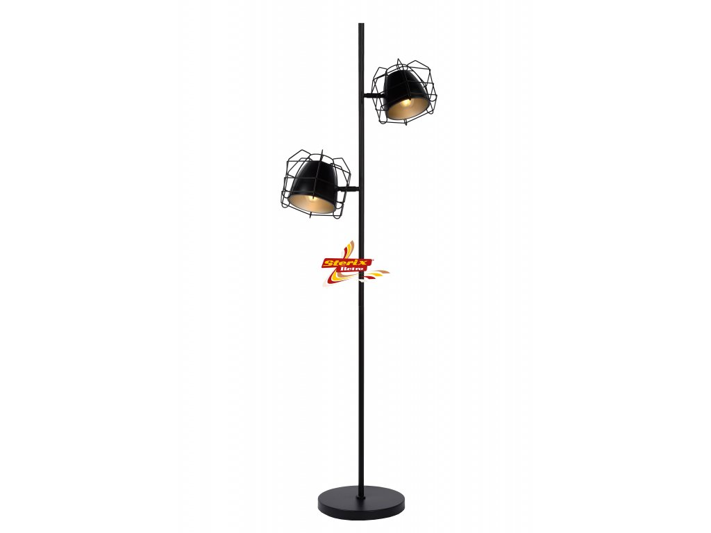 GRID - Floor lamp - Black