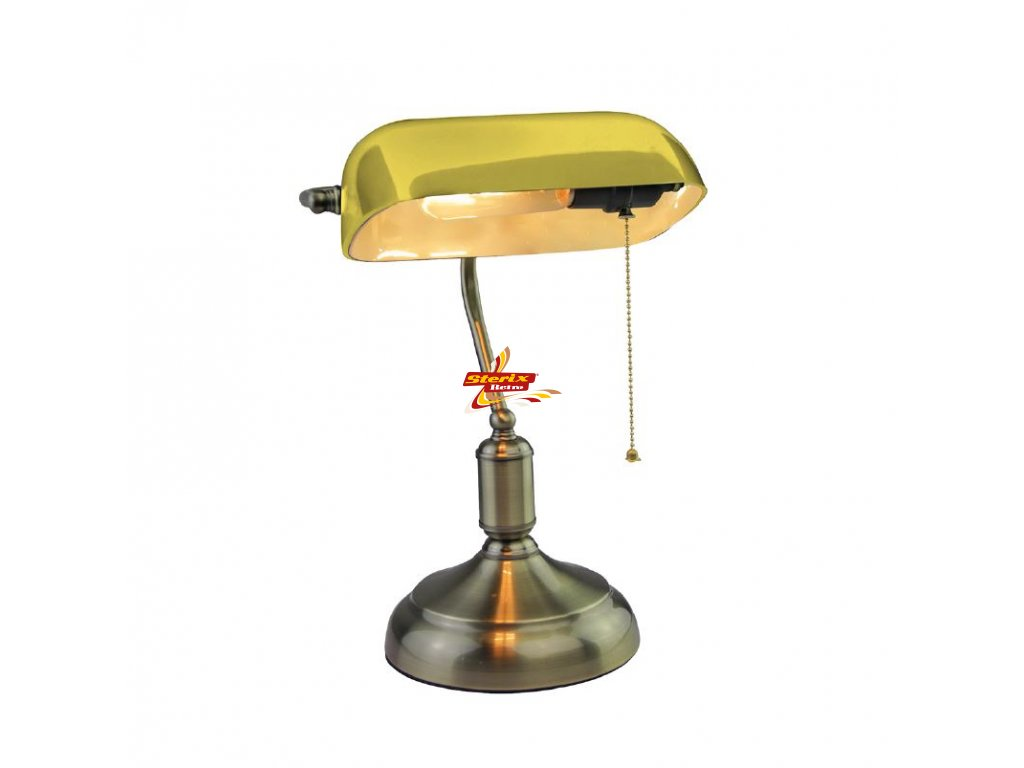 Banker's lamp Yellow