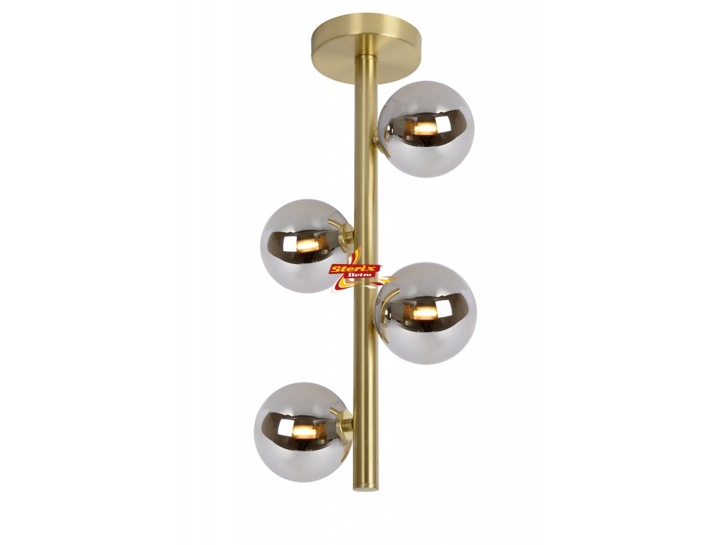 TYCHO - Flush ceiling light - G9 - Satin Brass