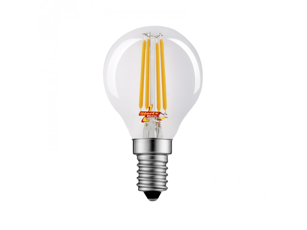 Retro LED žárovka Ball 6,5W/4000K/E14/820lm