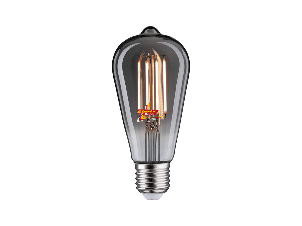 Retro LED žárovka ST64 Smoke 8W/550lm/2700K/E27